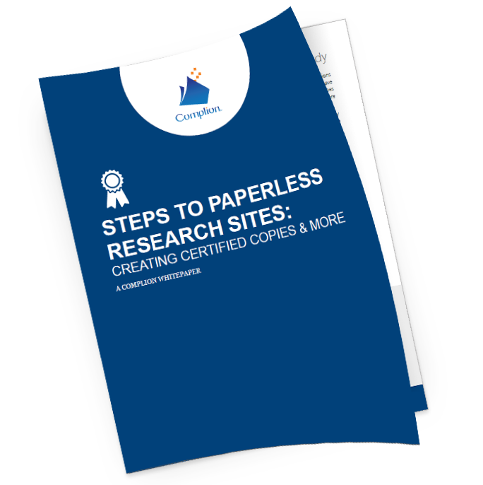 Steps to Paperless Research Sites: Creat...