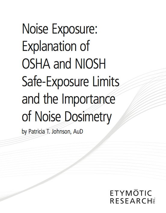 Documents - Noise Exposure Explanation: A White Paper - SCRS